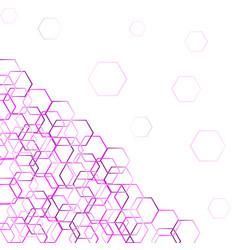 Technology polygonal concept vector