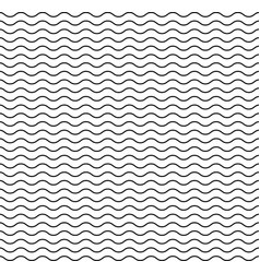 wave line pattern seamless wavy texture vector image