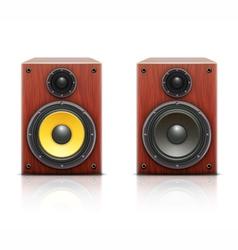sound loud hi-fi audio system vector image