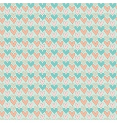 Abstract love seamless pattern vector image vector image
