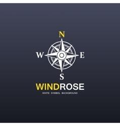 Windrose company symbol vector