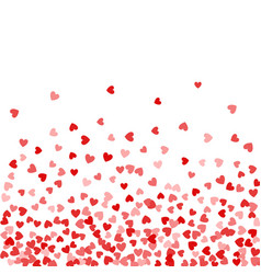 background random falling hearts vector image