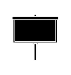 blank board presentation vector image