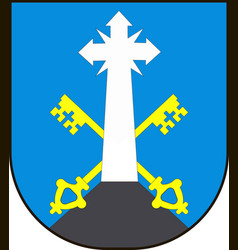 Coat of arms of zakopane is a town in the extreme vector