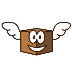 Fly Box vector image