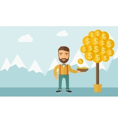 Money Growing on trees vector