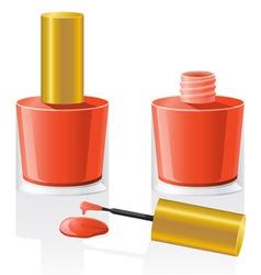 Nail polish 02 vector