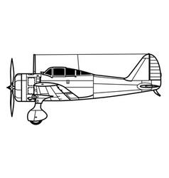 Nakajima ki-27 nate vector