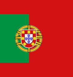 National symbol of portugal flag vector