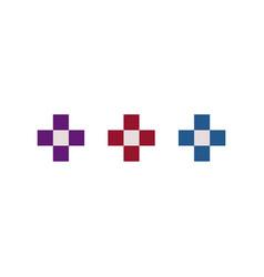retro arcade icon vector image
