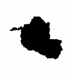 Rondonia state map vector