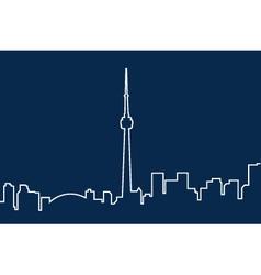 Toronto vector image vector image