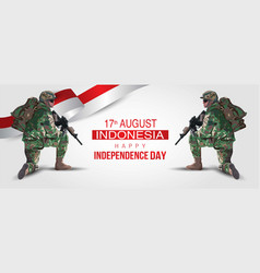 17th august background for happy independence vector