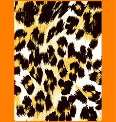 Animal skin pattern vector