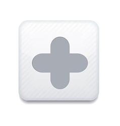 app plus icon vector image