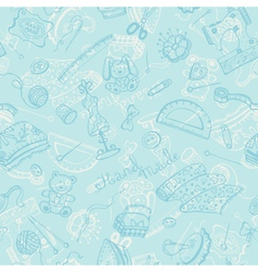 Craft tools pattern vector