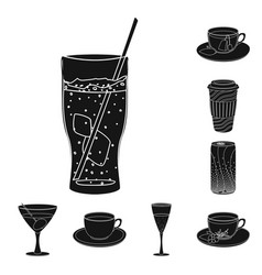 Design drink and bar sign collection of vector