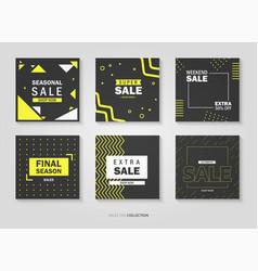 sales price tag set vector image