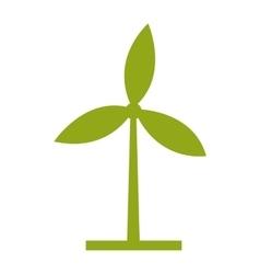 Wind mills ecologico design vector