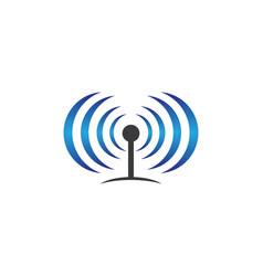 wireless symbol vector image