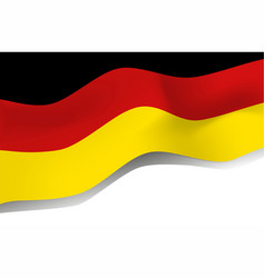 national symbol of germany flag vector image vector image