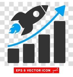 Rocket Startup Eps Icon vector image vector image