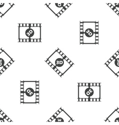 3D movie pattern vector