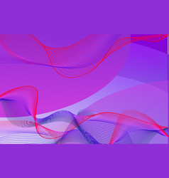 Background template design with purple and pink vector