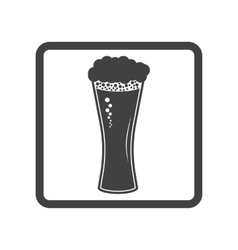 beer in glass icon Simple vector image vector image