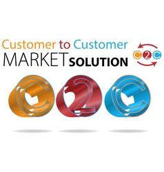 Customer to Customer vector