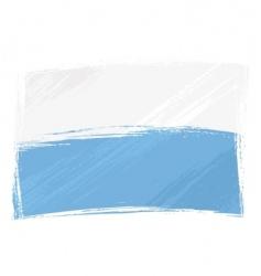 grunge San Marino flag vector image
