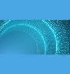 Infinite space background tunnel of vector
