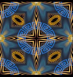 modern greek geometric blurred radial motion vector image