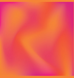 Orange and pink gradient background vector
