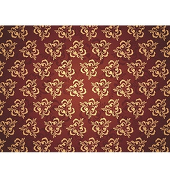 Pattern Golden vector image