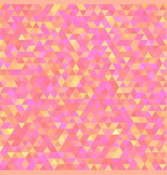Polygonal triangular shining background vector