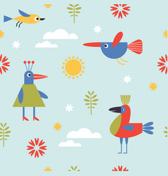 seamless pattern for kid vector image