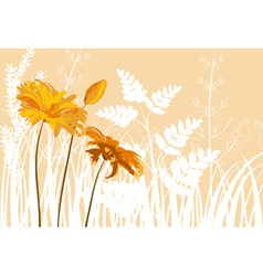 Soft Floral Background vector