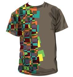 T-shirt vector image