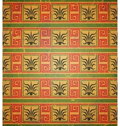 Seamless geometric pattern in the Greek style vector image vector image