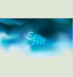 abstract teal background blurred turquoise water vector image