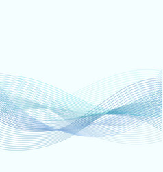 abstract template of page with blue strips stock vector image