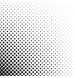 Black and white abstract square pattern vector