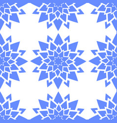 colorful seamless pattern of abstract blue vector image