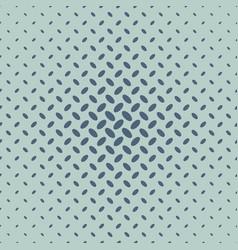 Geometrical halftone diagonal ellipse pattern vector