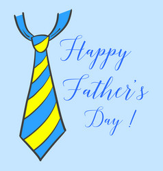 Happy father day hand draw vector