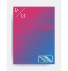 Minimalistic design poster vector