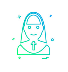 sister icon design vector image