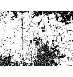 Vintage cracked background vector