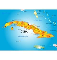 Cuba country vector image vector image